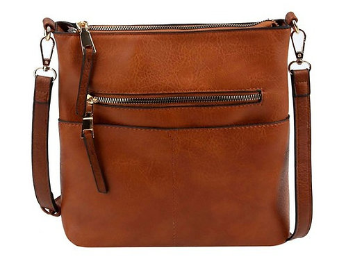 Bailey Vegan Leather Crossbody Handbag