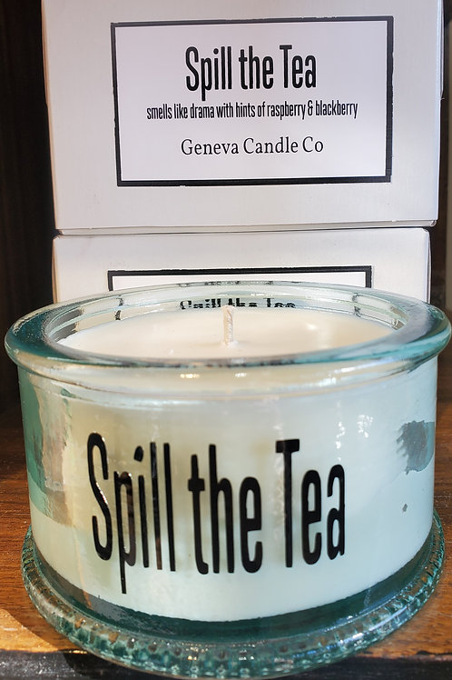 Spill the Tea Premium Soy Candle