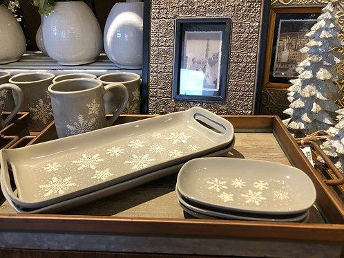 Snowflake Trinket / Soap Dish