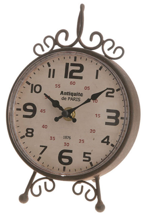 Antiquite de Paris Table Clock
