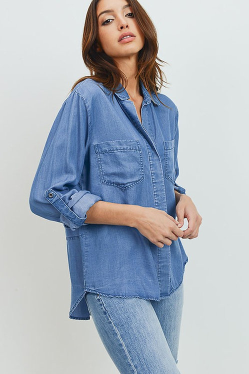 Avery Tencel Denim Shirt