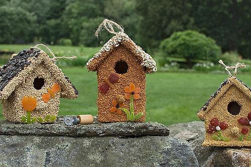 Fruit & Seed Bird Cottage
