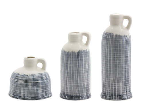 Riviera Jug Vases Set of 3