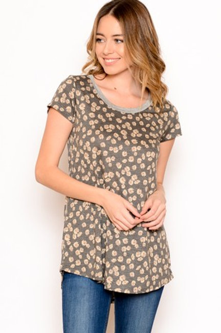 Emily Floral Tee