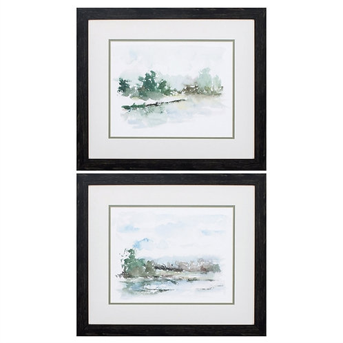 Spring Watercolor Set of 2