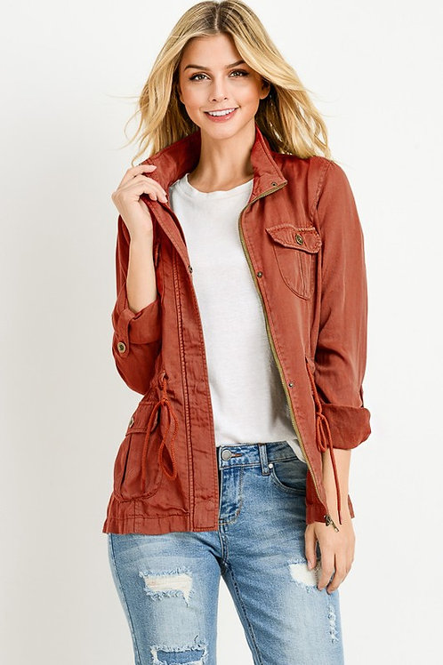 Mila Tencel Anorak Jacket
