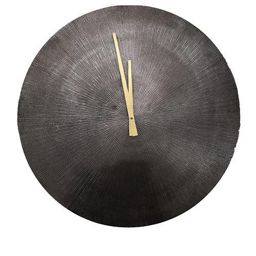 Hutton Striated Wall Clock