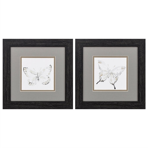 Butterfly Impressions Art Set of 2