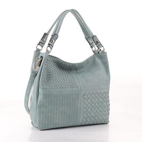 Amanda Basket Weave Handbag