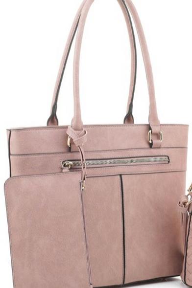 Hazel Handbag with Clutch