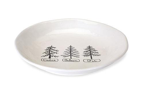 Evergreen Trees Platter