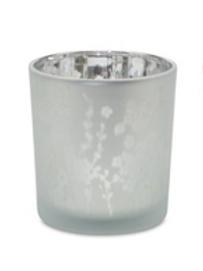 Wildflowers Glass Votive Holder