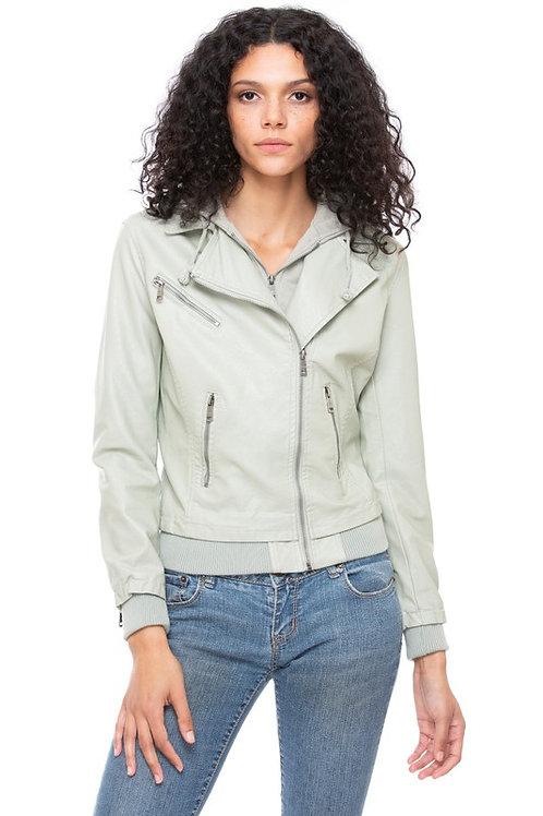 Victoria VeganLeather Jacket