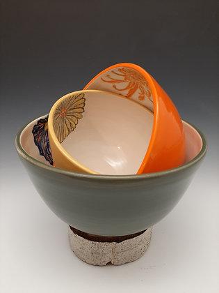 Flower Bowls, set of 3