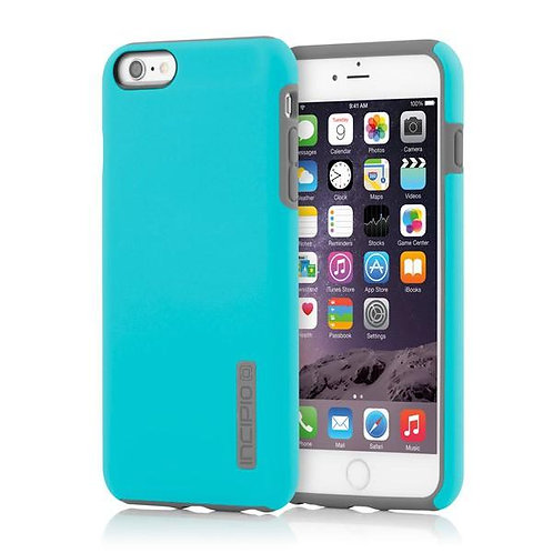 Incipio DualPro for iPhone 6 Plus-Cyan/Charcoal