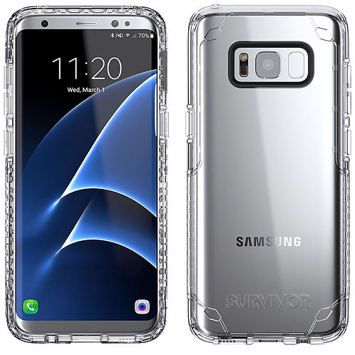 Griffin Survivor Strong for Samsung S8 Clear