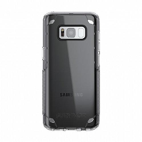 Survivor for Samsung S8 + Clear/black