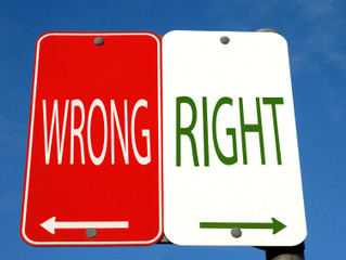 You Don't Have to Make the Other Person Wrong, to be Right.