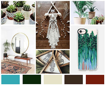 Mood Board - Boho, Wanderlust, Travel.jp