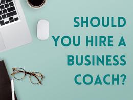 Should you hire a business coach?