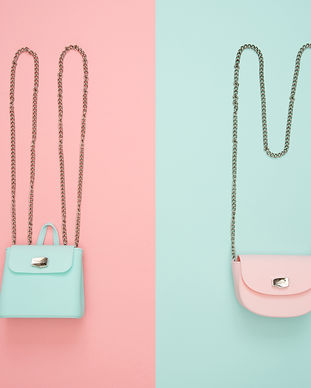 photo-of-two-teal-and-pink-leather-cross