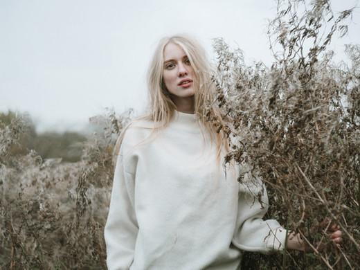 Blond Girl in a Field