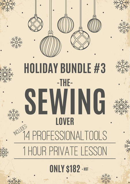 Holiday Bundle #3: The Sewing Lover