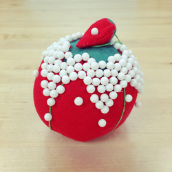 Pin cushion art - The Sewing Junction