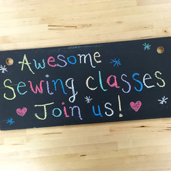 Chalkboard fun - The Sewing Junction