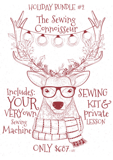 Holiday Bundle #2: The Sewing Connoisseur