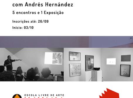 Laboratório Curatorial com Andrés Hernández