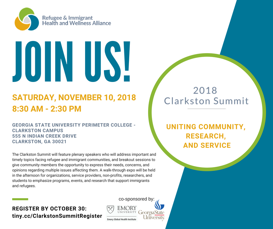Clarkston Summit: Serving refugee and immigrant populations