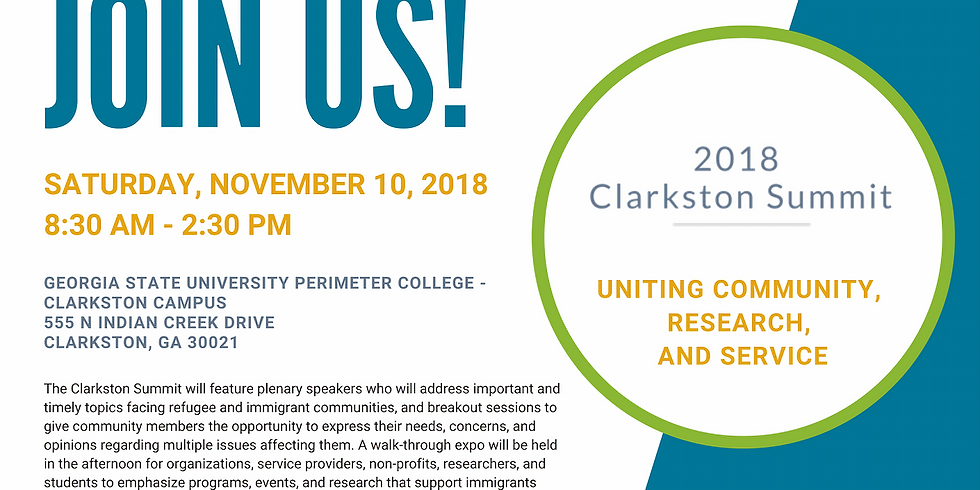 Clarkston Summit:  Serving refugee and immigrant populations in Atlanta