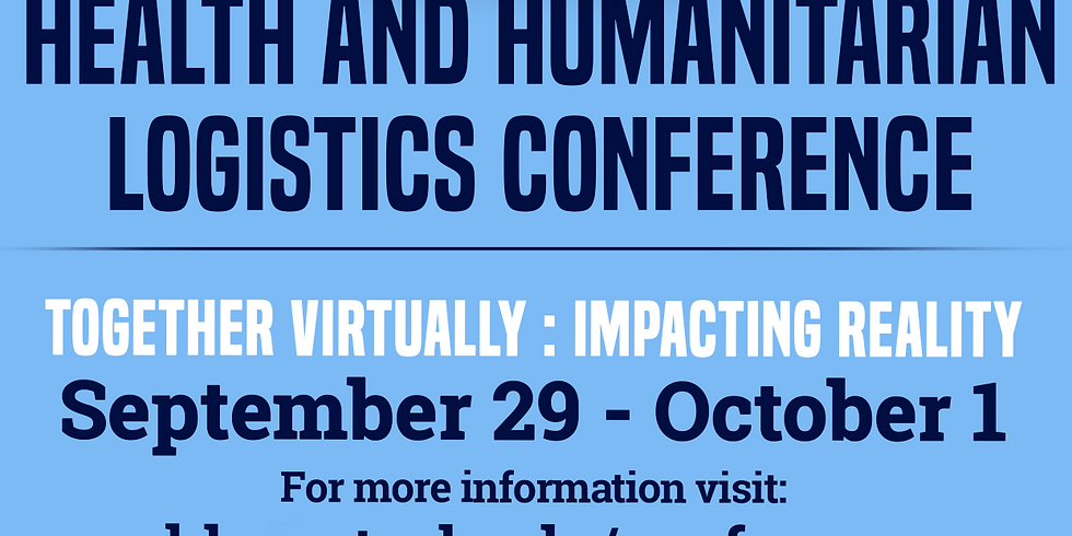 Register Today! - 12th Health and Humanitarian Logistics Conference