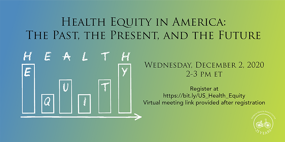 Health Equity in America: The Past, the Present, and the Future