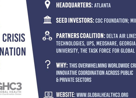 Global Health Crisis Coordination Center gets launched in Atlanta