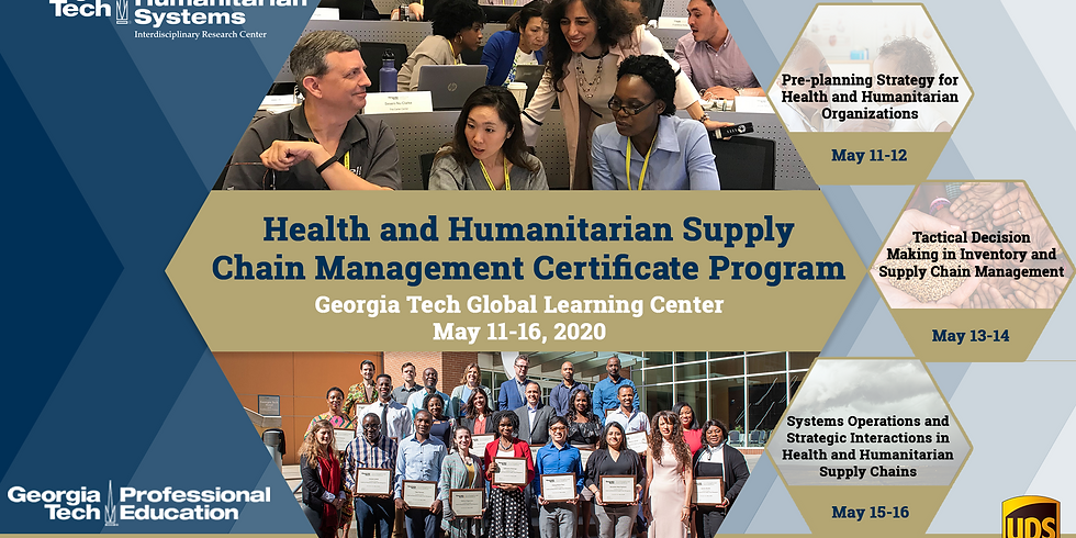 Professional Certificate program in  Health & Humanitarian Supply Chain Management