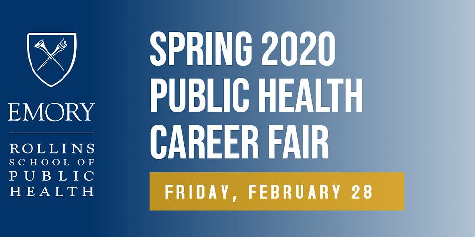 RSPH Spring 2020 Public Health Career Fair