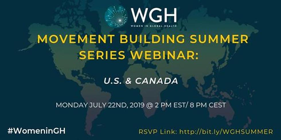Webinar: 2019 WGH Movement Building Series
