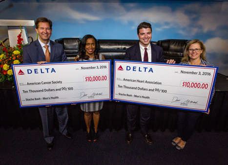 Delta celebrates Men's Health Month with one big Bash and two big donations
