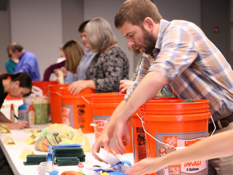 Journey of a Bucket: A story of extraordinary giving made possible by many hands along the way