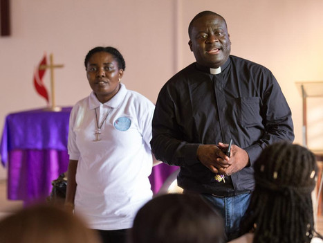 Missionaries help growth in west Africa