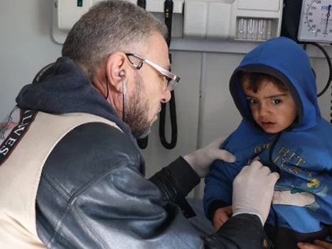 DEVASTATING RAIN & WINTER CHILL ADDS TO SUFFERING OF SYRIAN REFUGEES