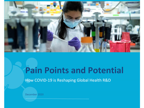 Pain Points and Potential: How COVID-19 is Reshaping Global Health R&D