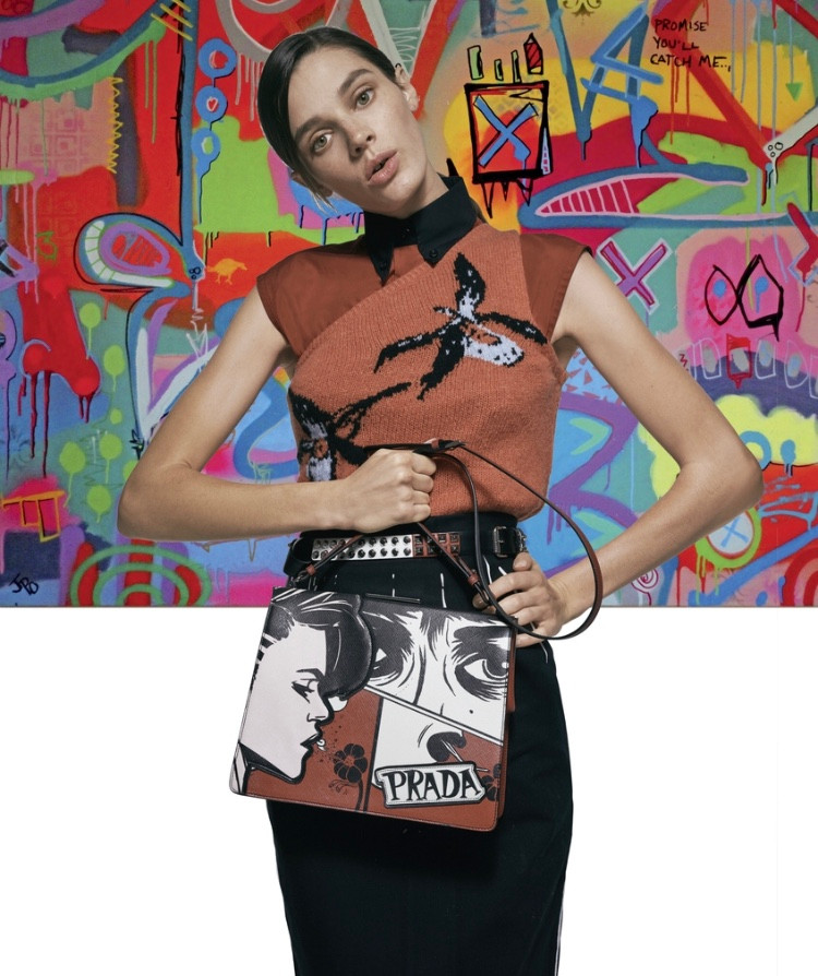 @JPOart paired with @prada for the @saks spring fashion book