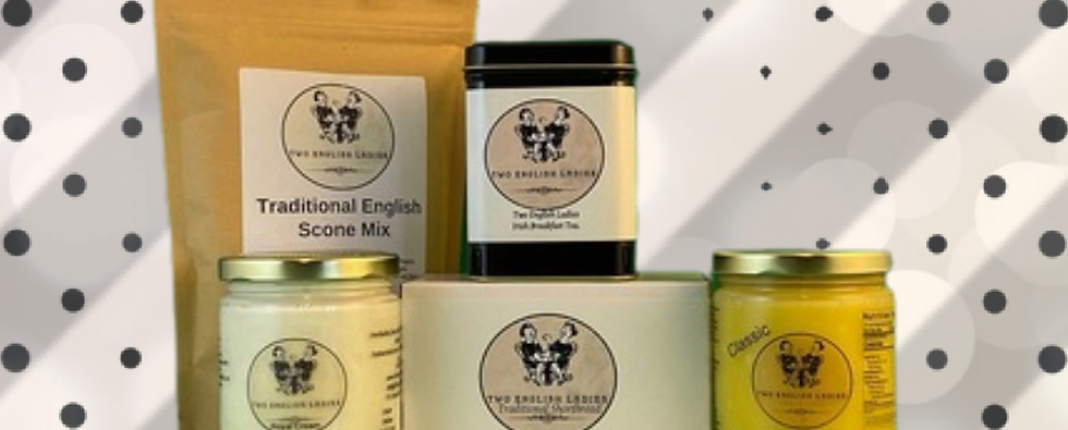 English Cream Tea Tin pack