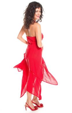 Fashion Red Dress