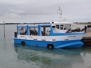 Bateau amphibie de Tatihou