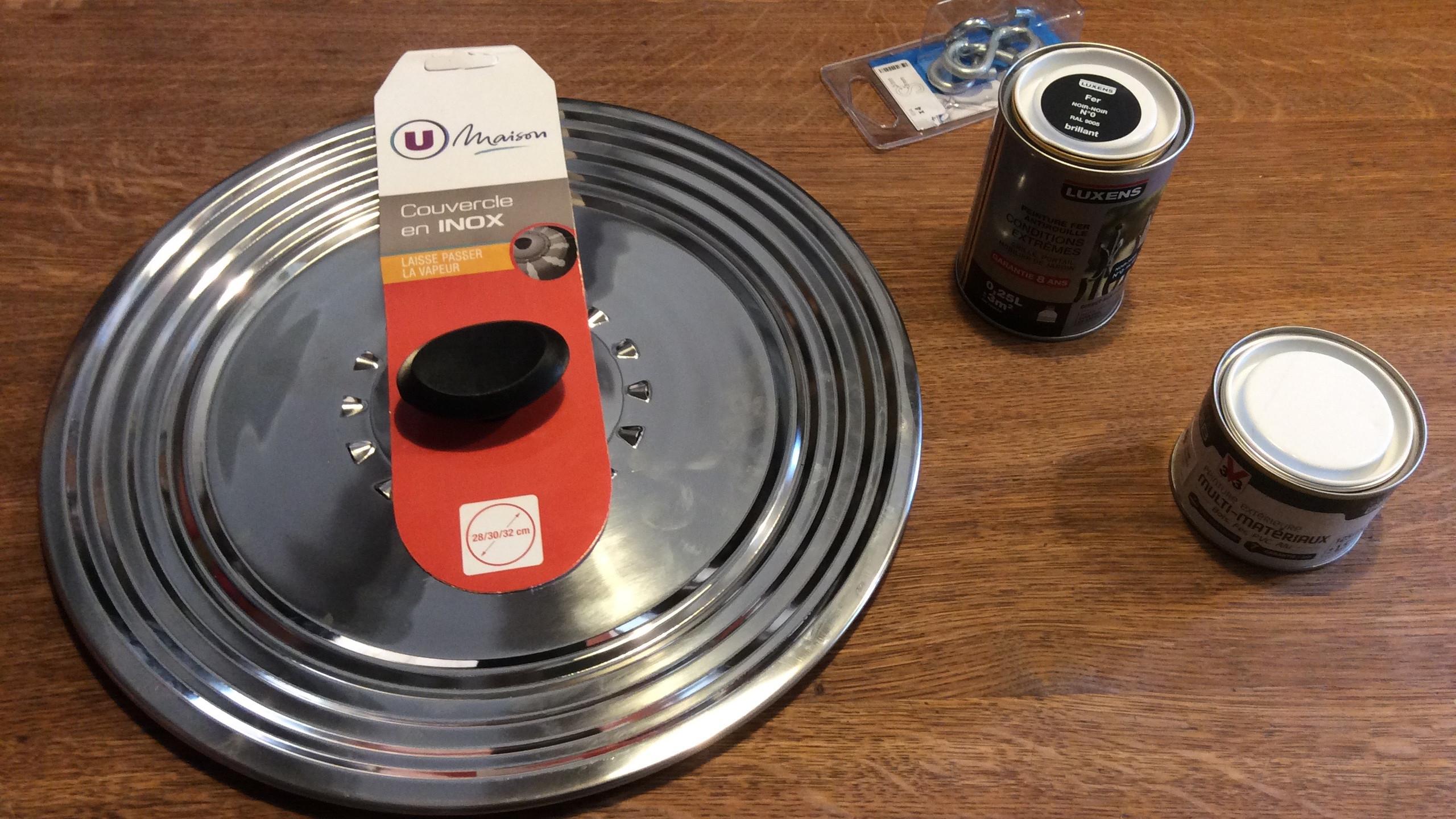 Matériel pour secchi disk