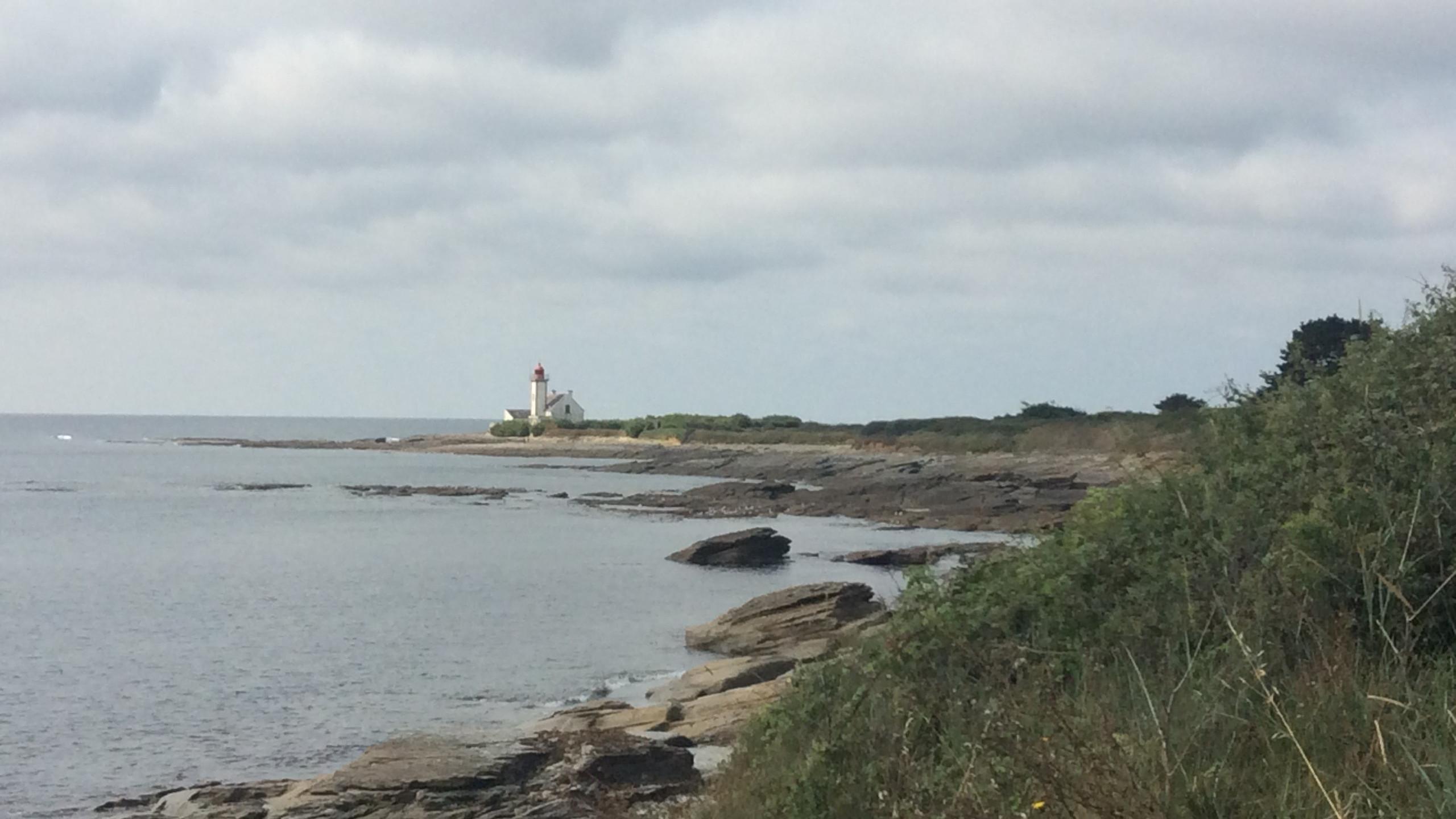 Vue sur le phare